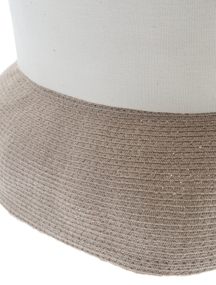 【mature ha.】Hemp Linen Braid Hat Short 詳細画像 グレージュ 7